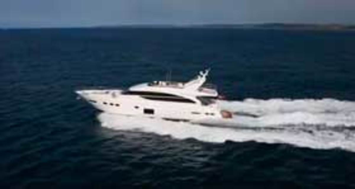 Click here to see a video of the Princess 82