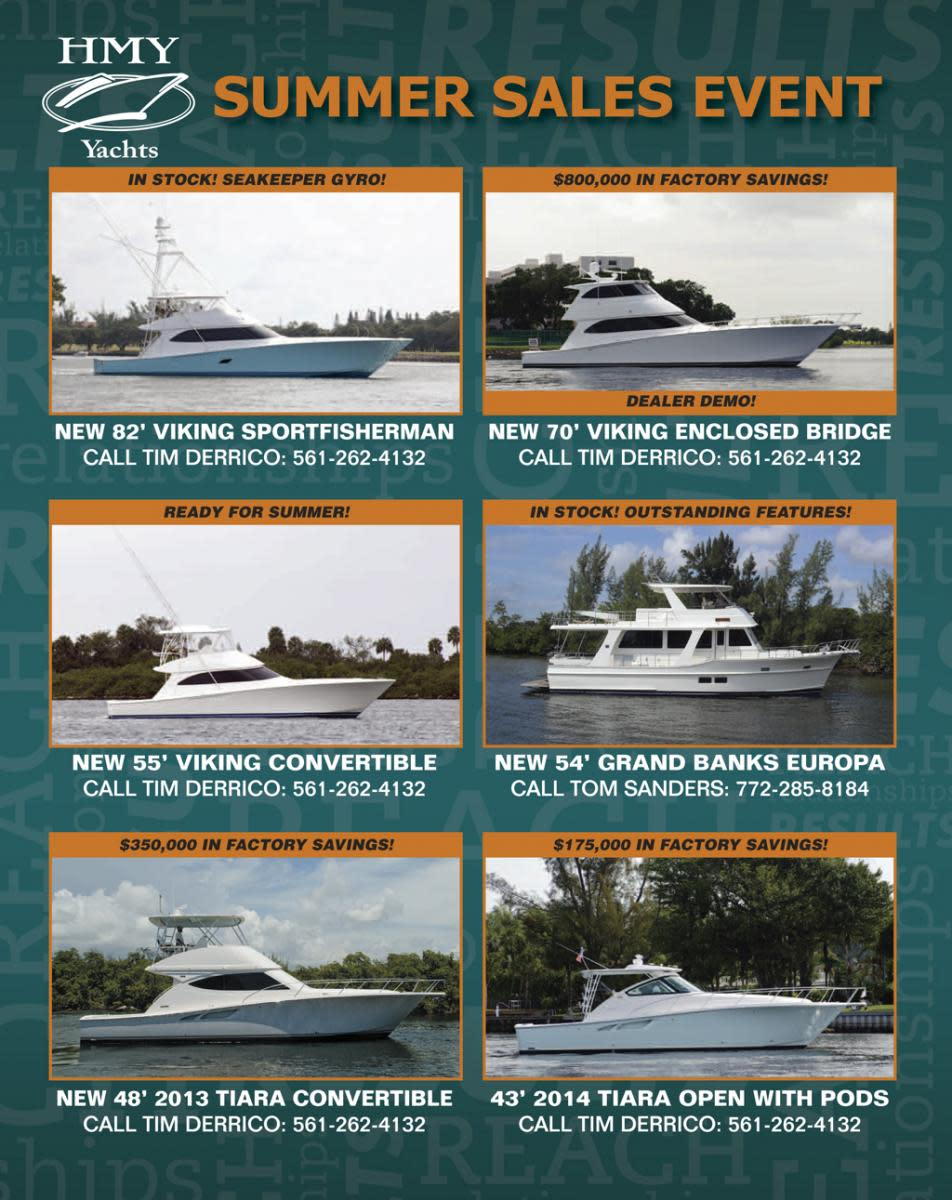 HMY Yacht Sales boats for sale