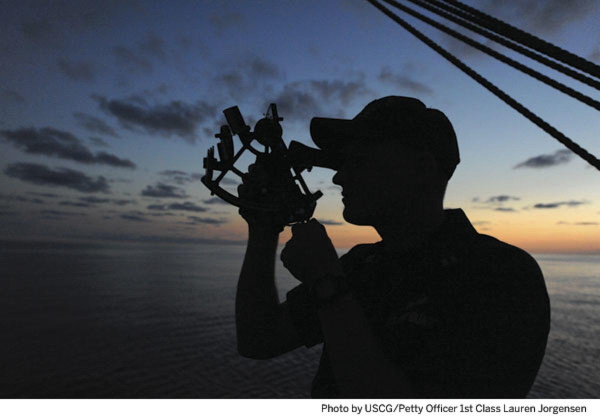 The Navigator - Photo by USCG/Petty Officer 1st Class Lauren Jorgensen