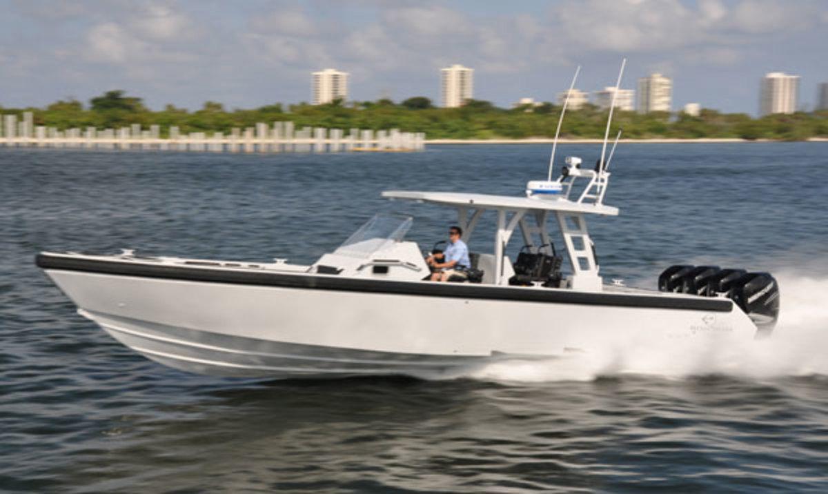 Metal Shark Fearless boat