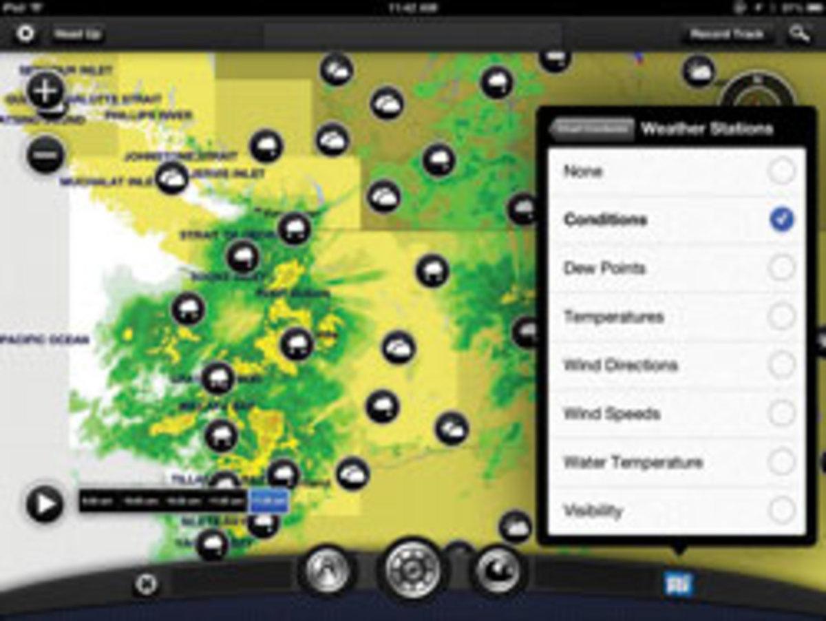 Garmin's BlueChart Mobile app