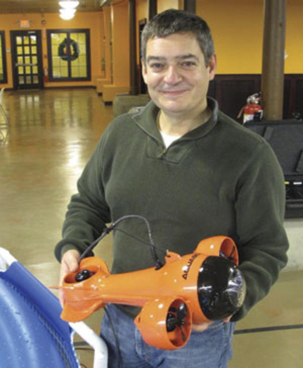 Durval Tavares, the founder and president of Aquabotix