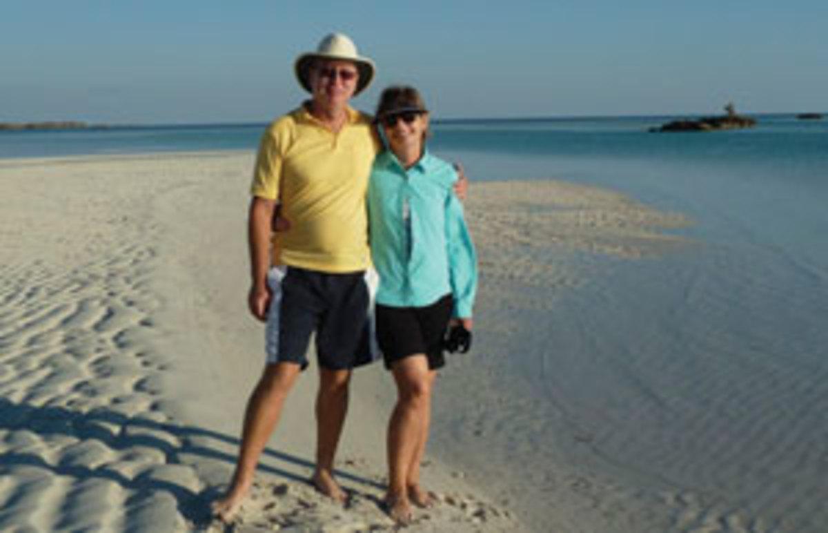 Vicki and Maynard Smith
