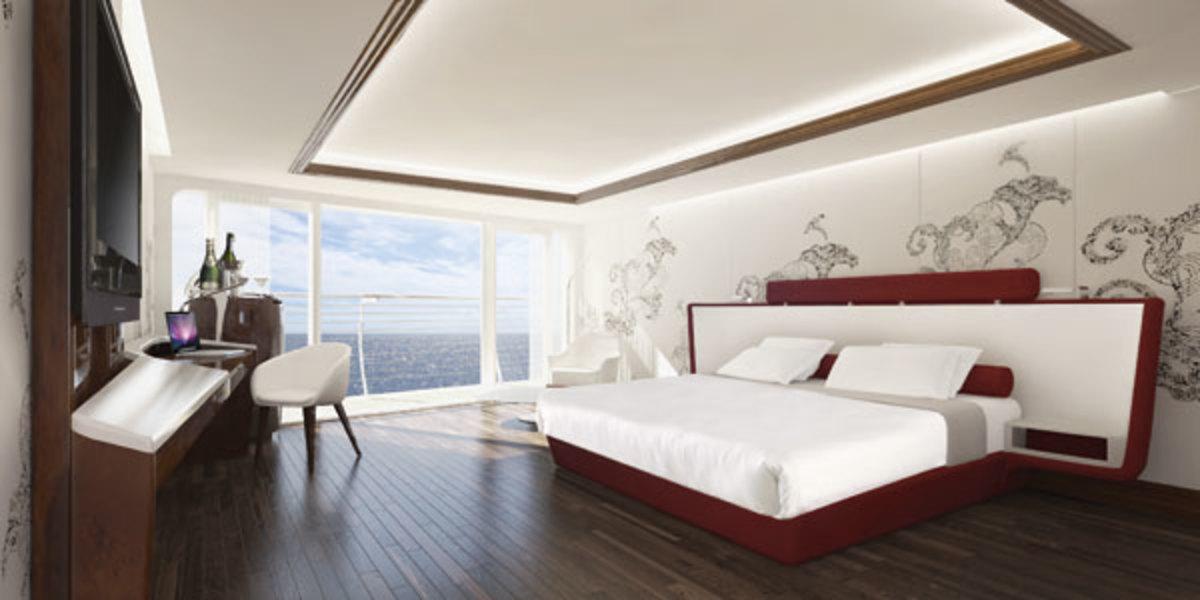 Standard room in the Sunborn Gibraltar