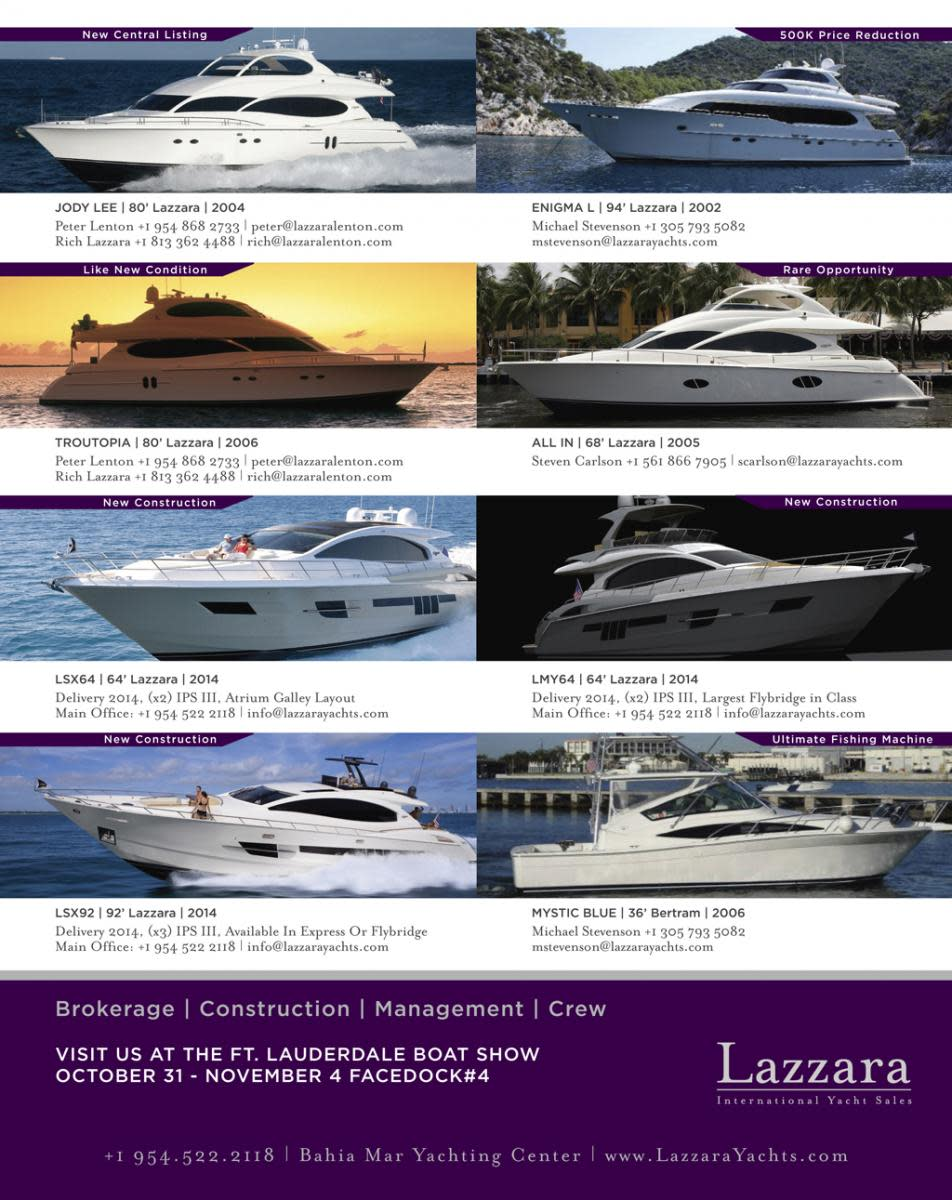 Lazzara International Yacht Sales