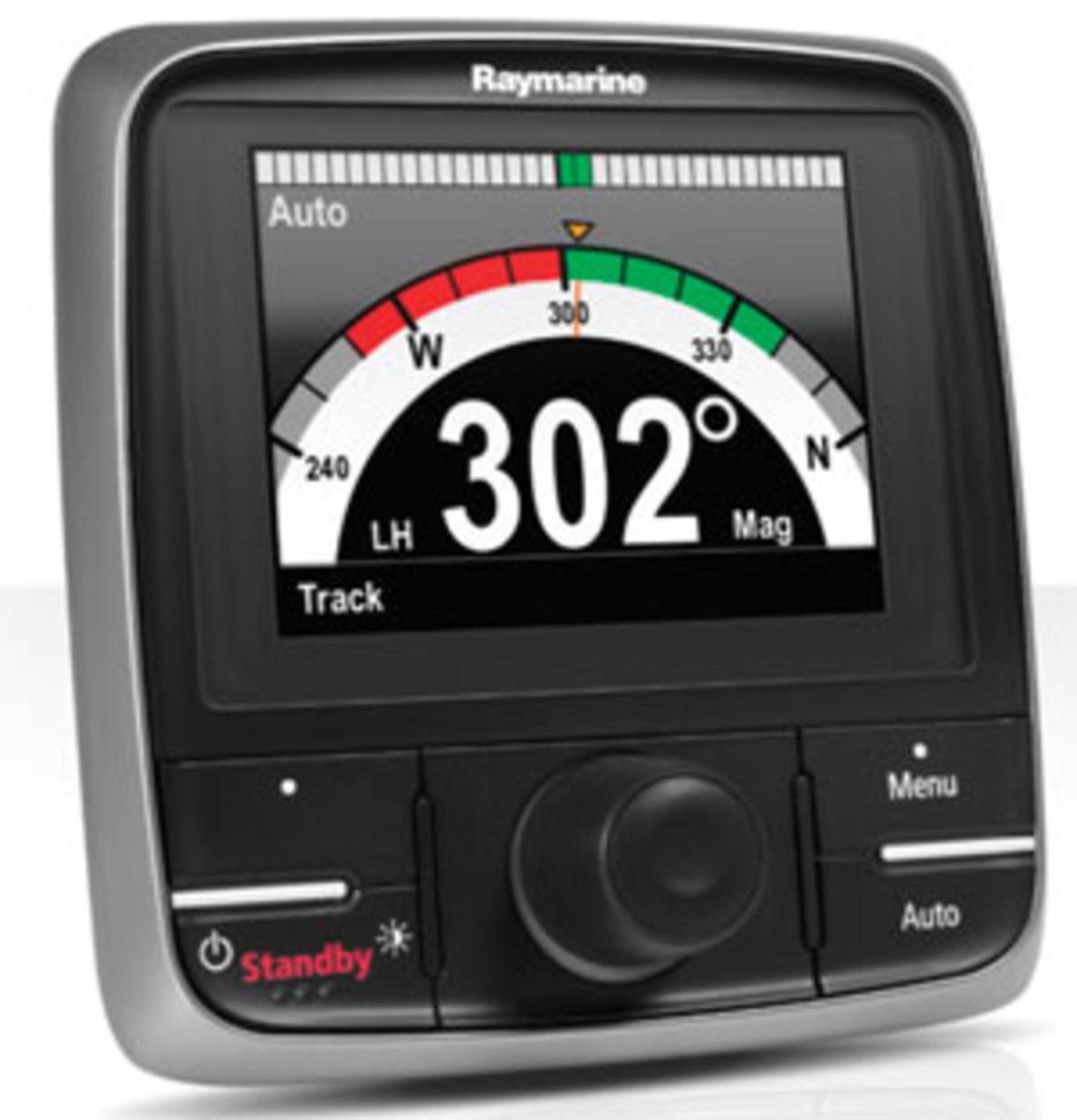 Raymarine's Evolution autopilot control