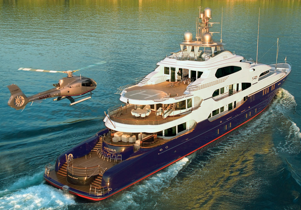 Click to enlarge image - Megayacht Attessa