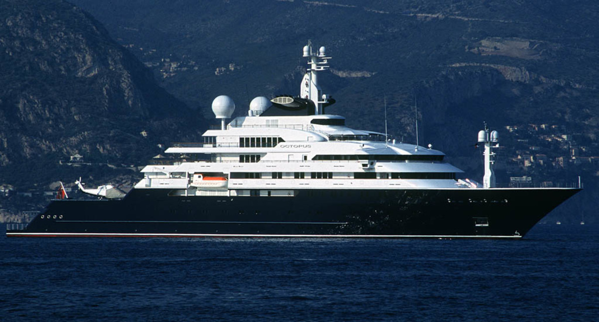 Click to enlarge image - Megayacht Octopus