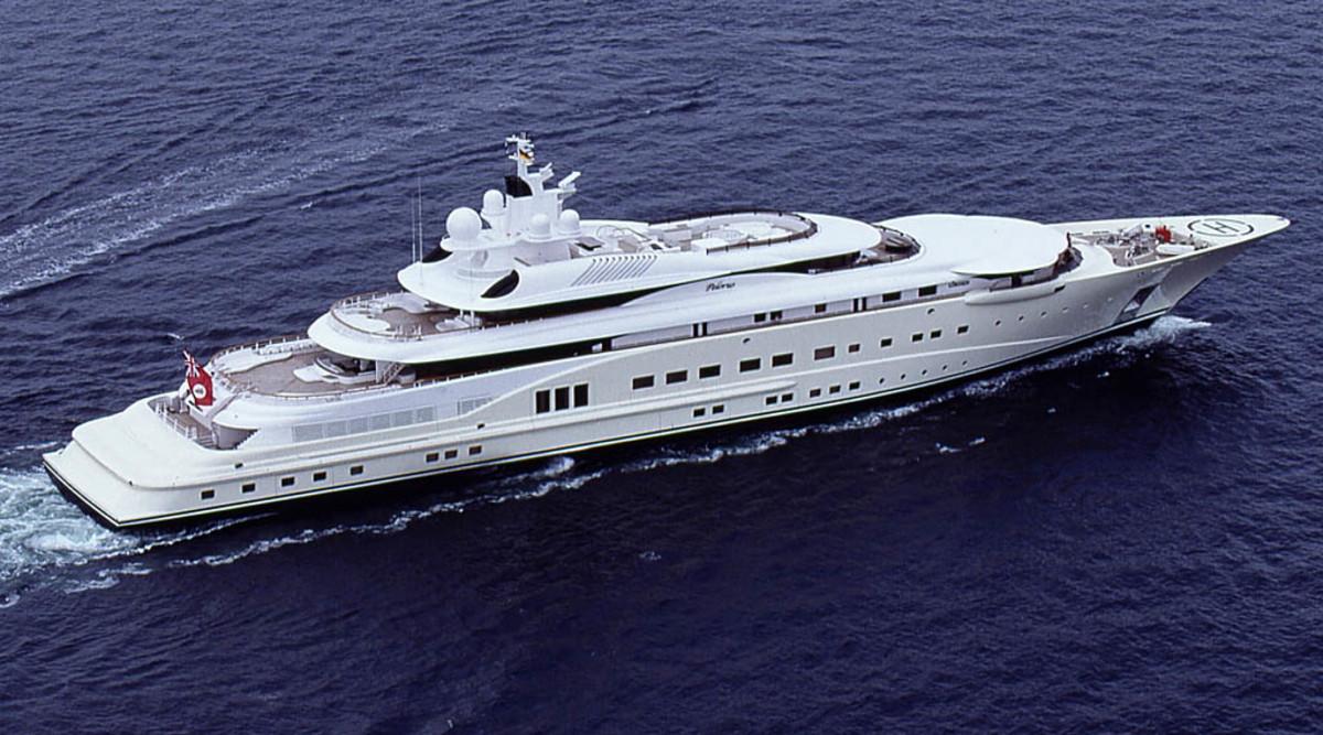 Click to enlarge image - Megayacht  Pelorus