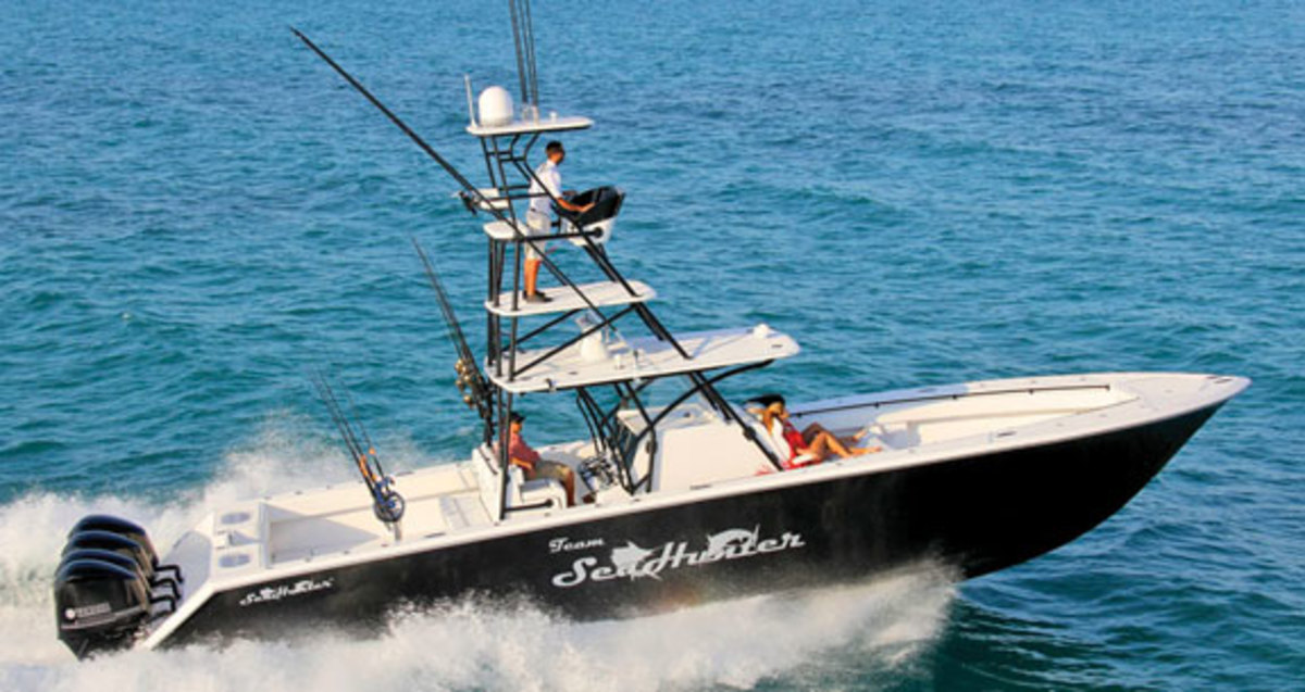 Sea Hunter Boats >> Sea Hunter Tournament 45 - Power & Motoryacht