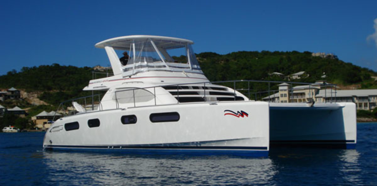 Moorings catamaran