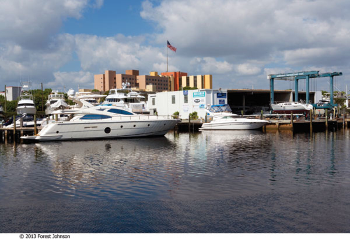 Norseman Shipyard in Miami, Florida, photo by Forest Johnson.