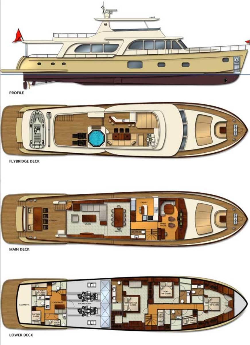 Vicem 107 Deck Plans