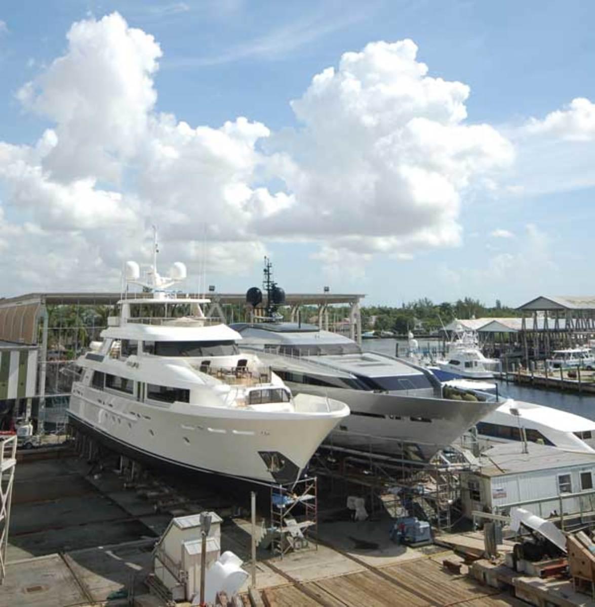 Bradford Marine in Ft. Lauderdale, Florida