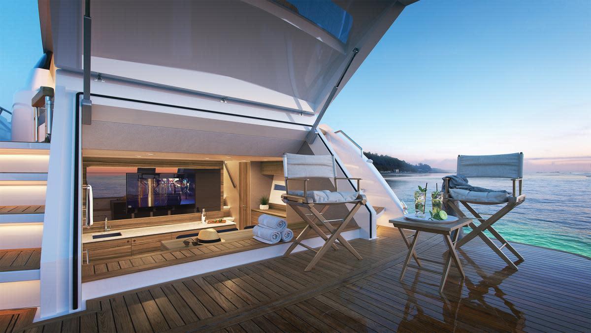 Maritimo X60 Cabana