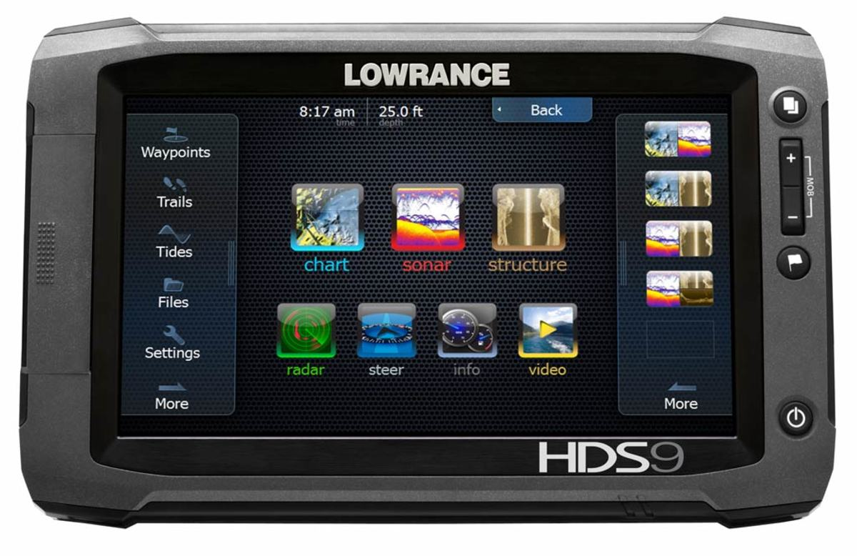 Lowrance HDS-9 Gen2 Touch, click to enlarge