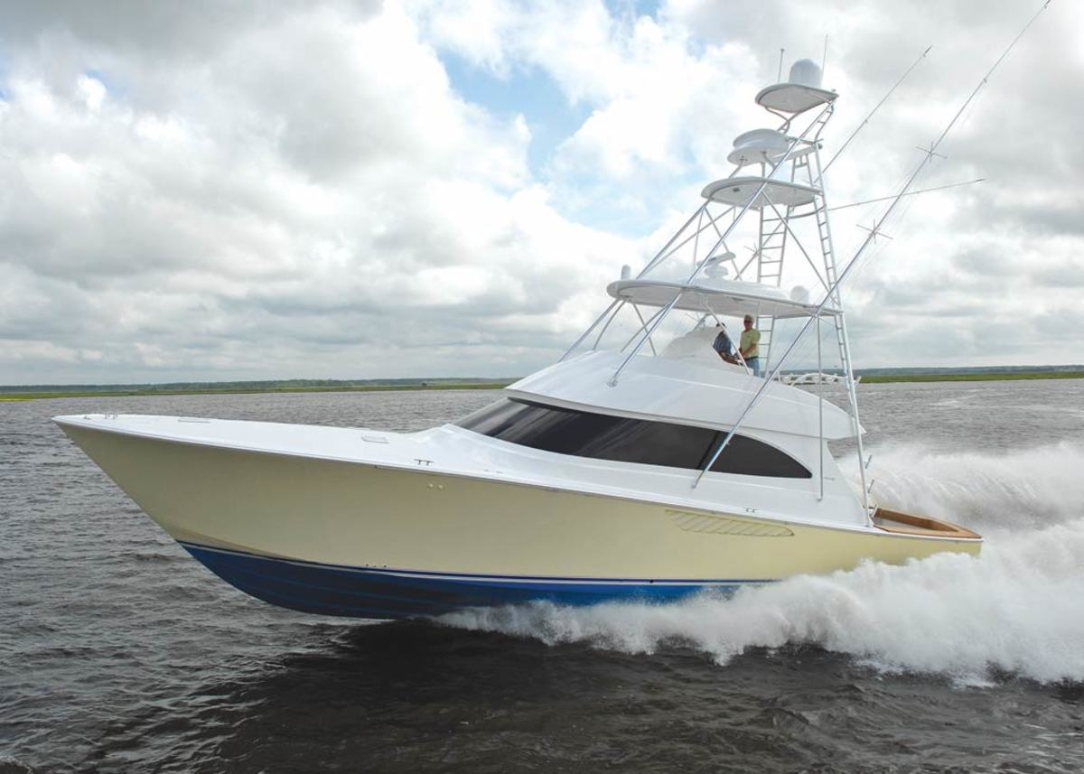Viking 55 Convertible - click to enlarge