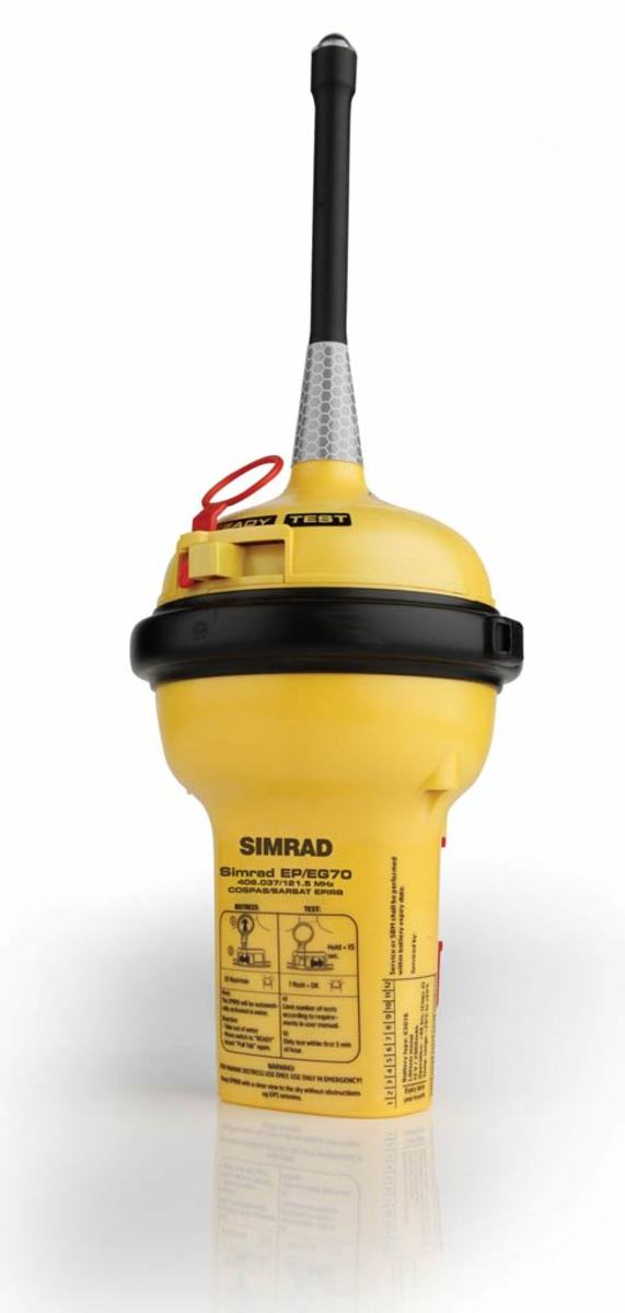 Simrad EG70 GPS-EPIRB - click to enlarge
