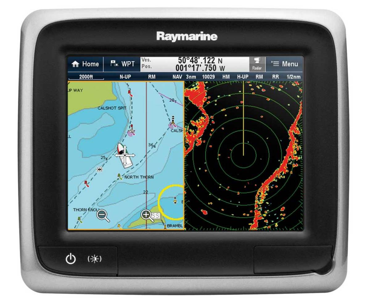 Raymarine a65 Multifunction Display