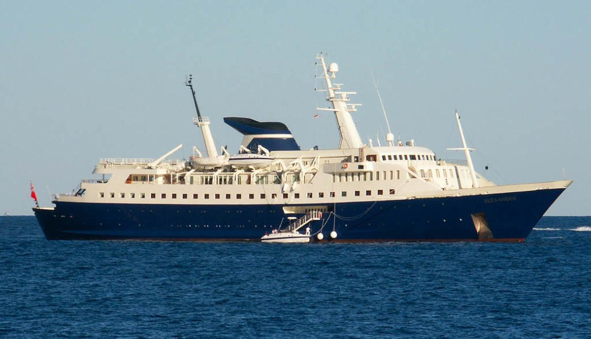 Click to enlarge image - Megayacht Alexander