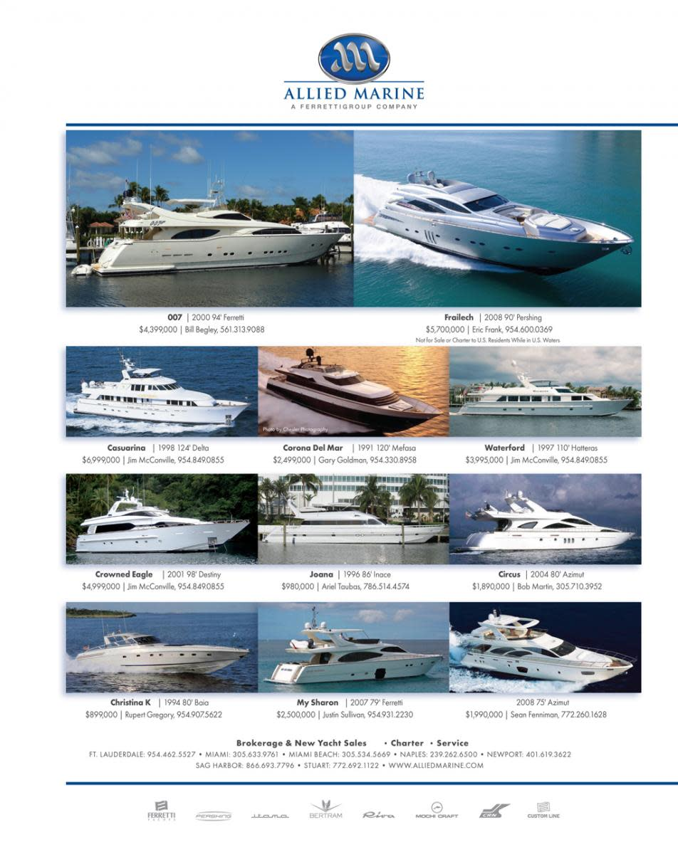 Allied Marine select brokerage ads