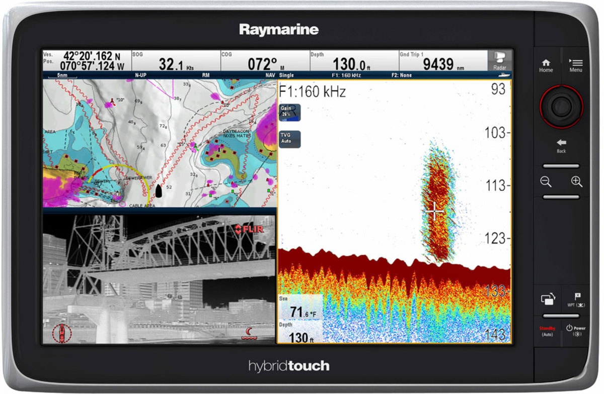 Raymarine e165  - click to enlarge