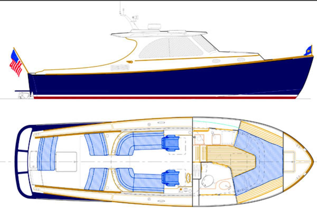 Hinckley T34 layout diagram