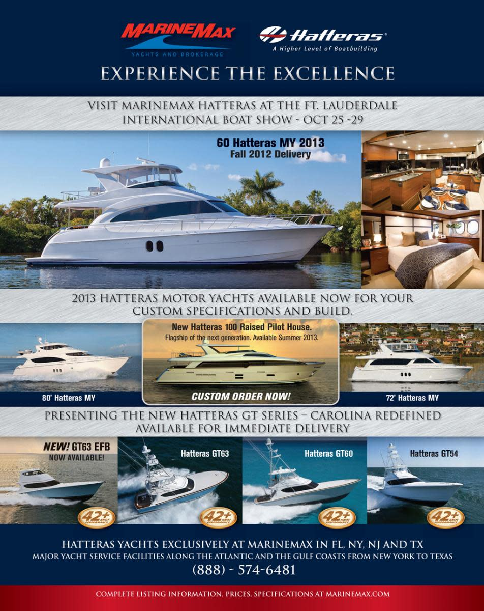 Marine Max select brokerage ads