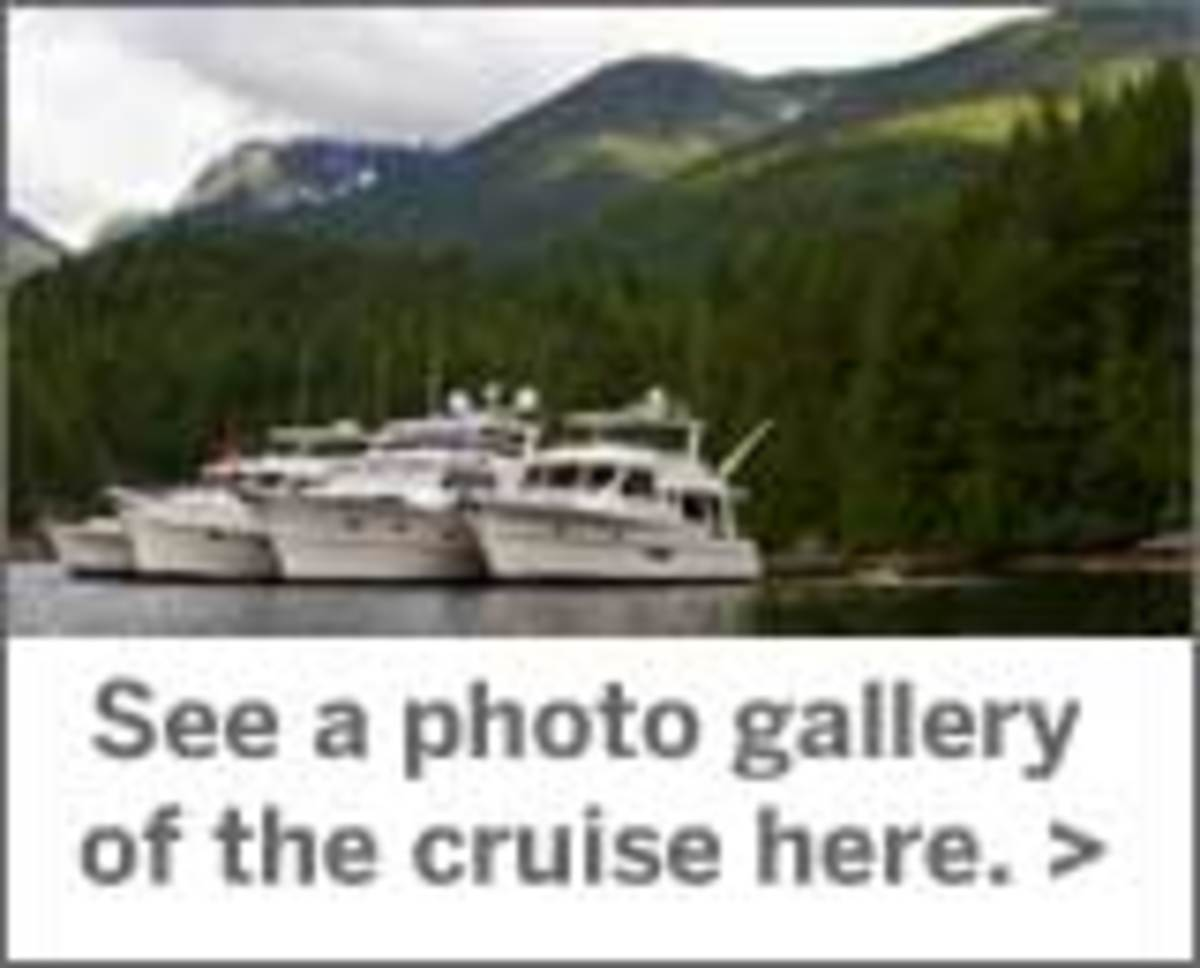 Click here to see photo gallery of the cruise.