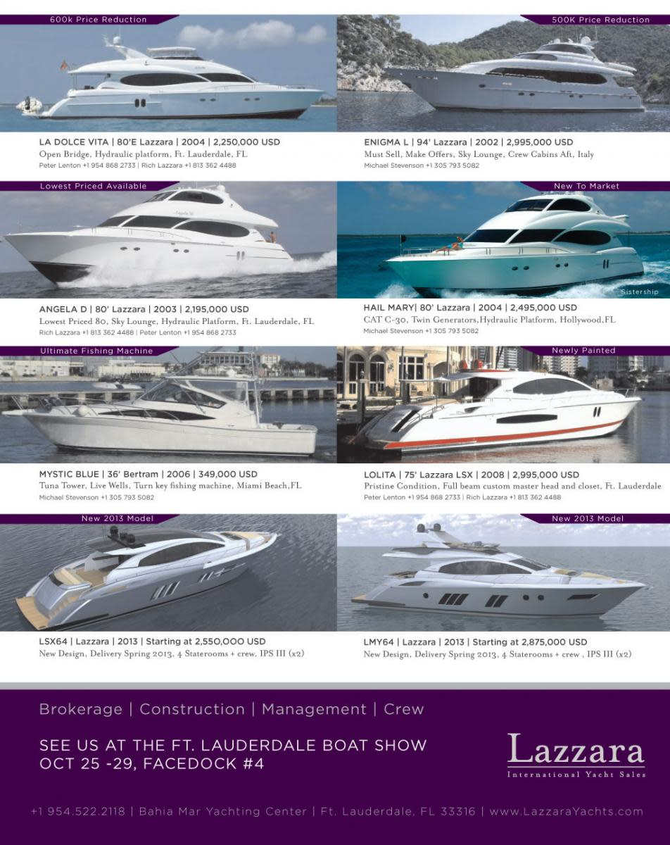 Lazzara select brokerage ad