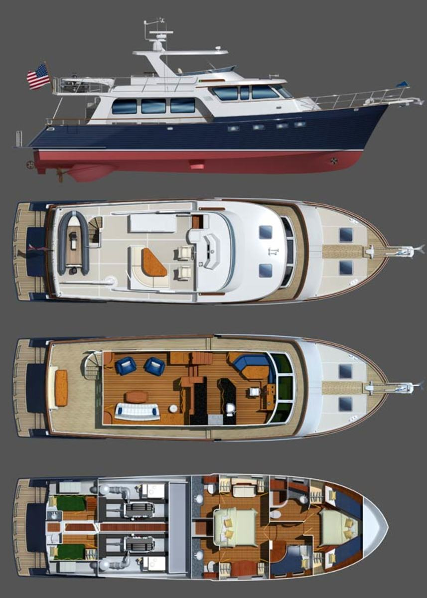 Marlow 61E MK 2 Internal Layout Diagram