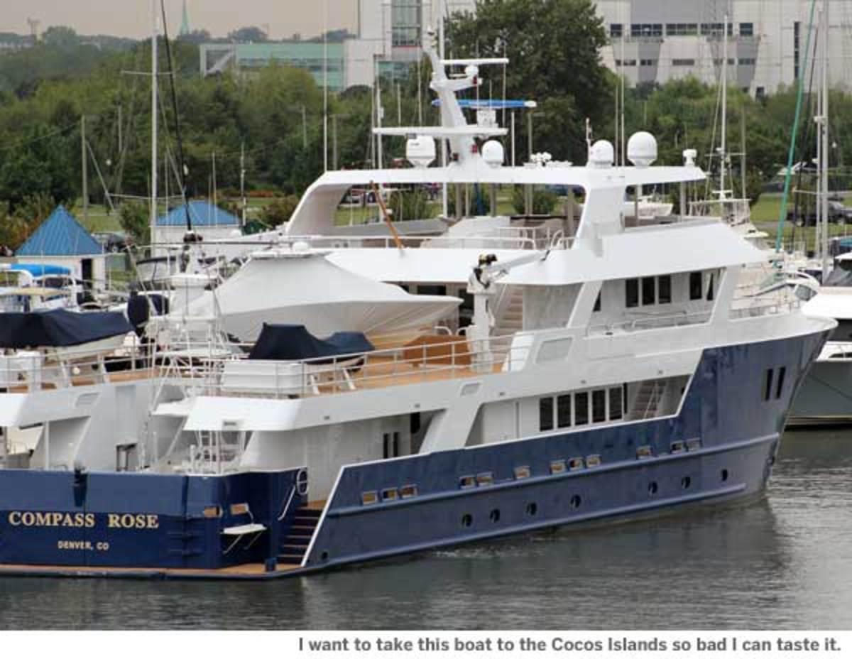"""Megayacht """"Compass Rose"""""""