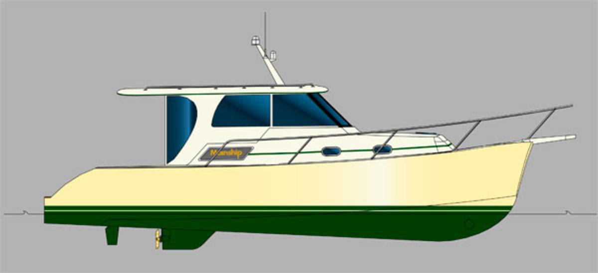 Marlow Mainship 32