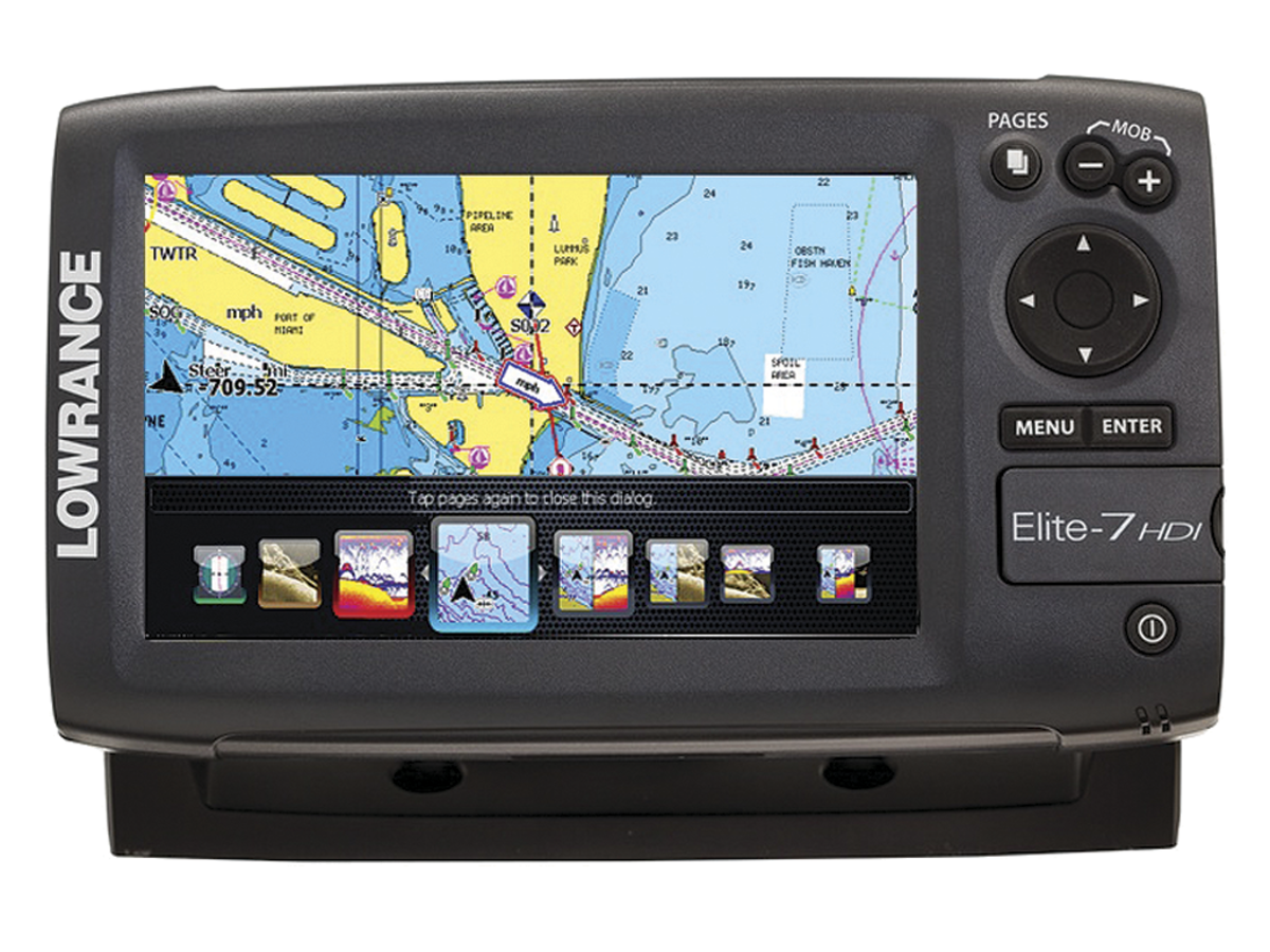 Lowrance Elite-7 - click to enlarge