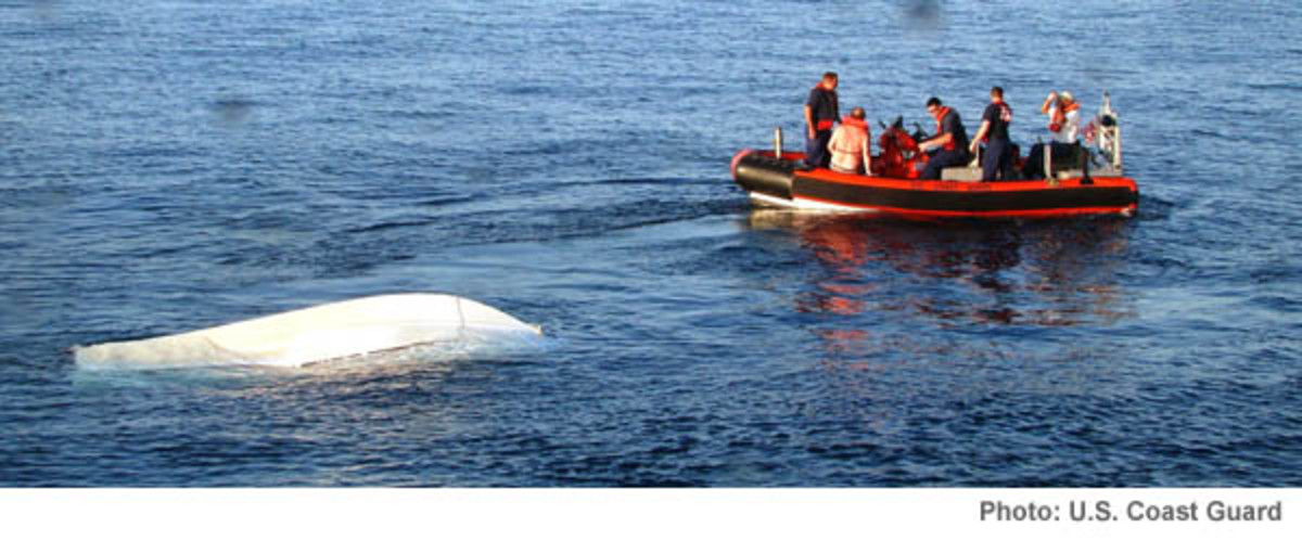 Photo by U.S. Coast Guard: The U.S. Coast Guard may mandate satellite beacons to simplify searches.