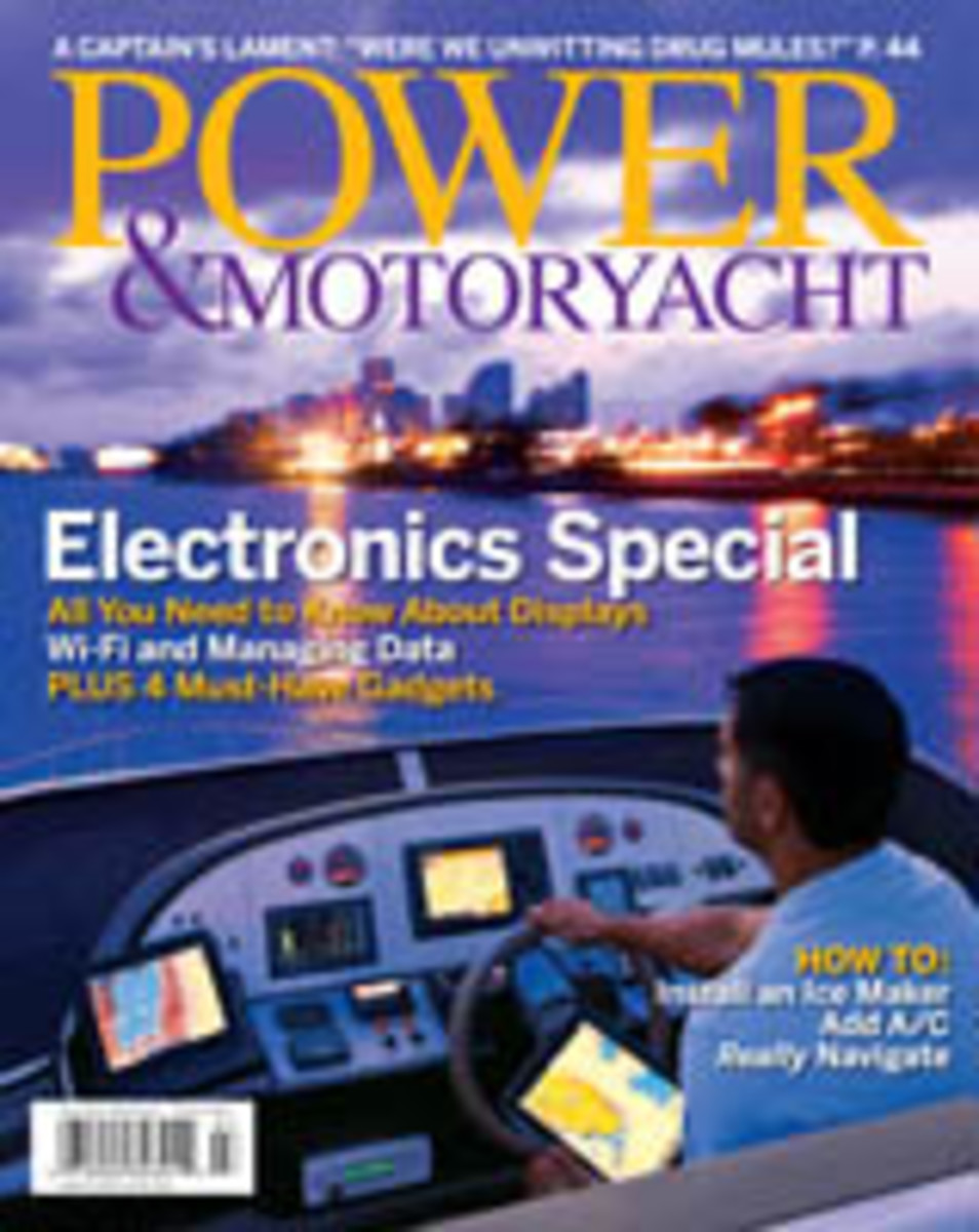Power & Motoryacht July 2012 cover
