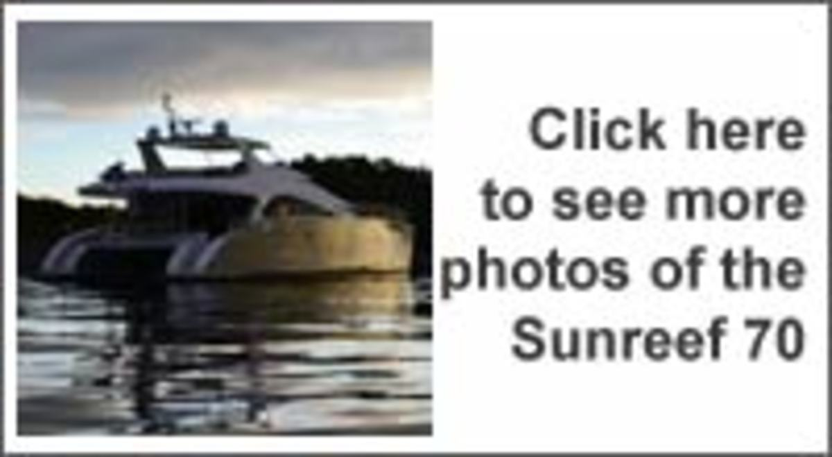 Click here to see more photos of the Sunreef 70