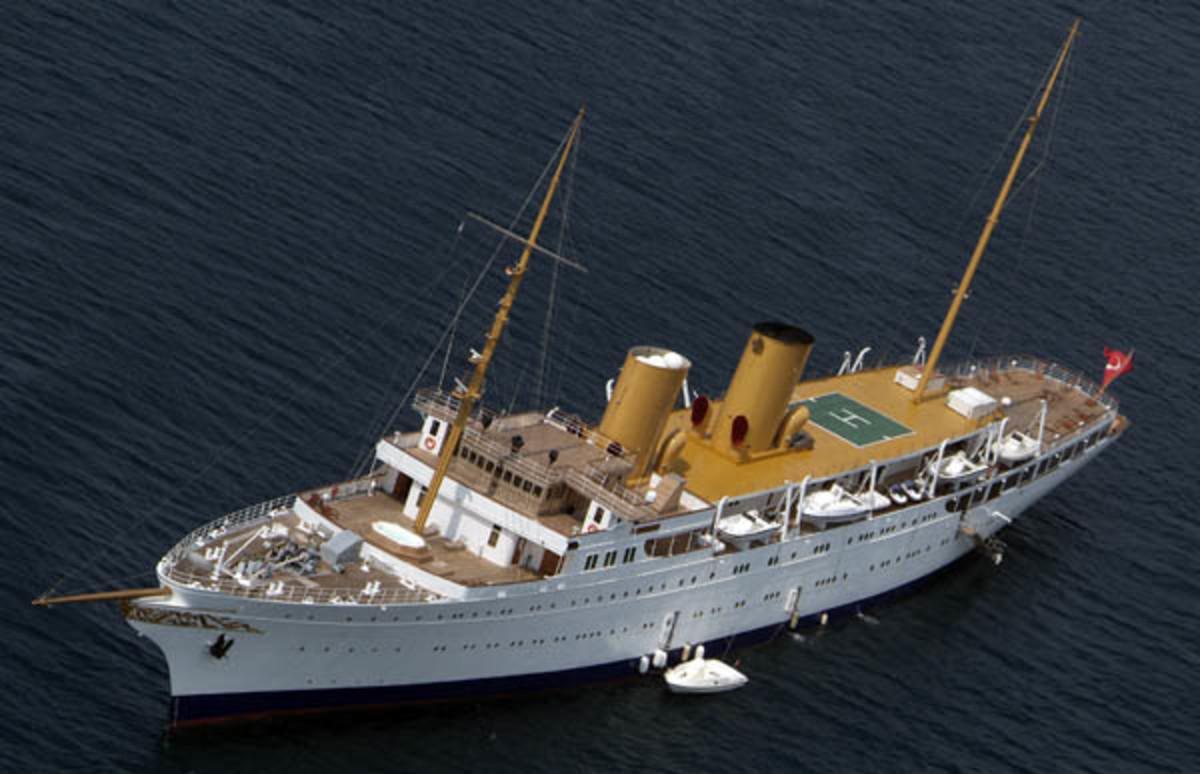 Megayacht Savarona