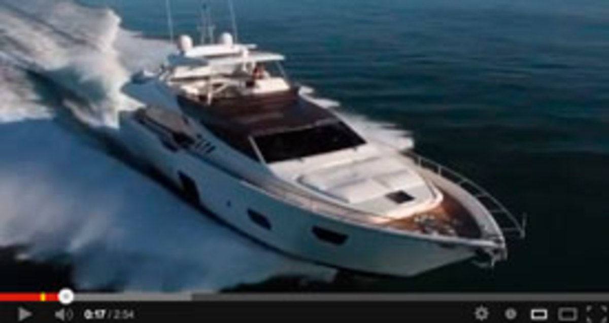 Click here to see a video of the Ferretti 870