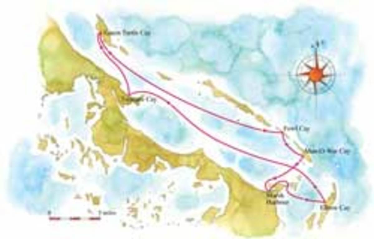 Abacos map