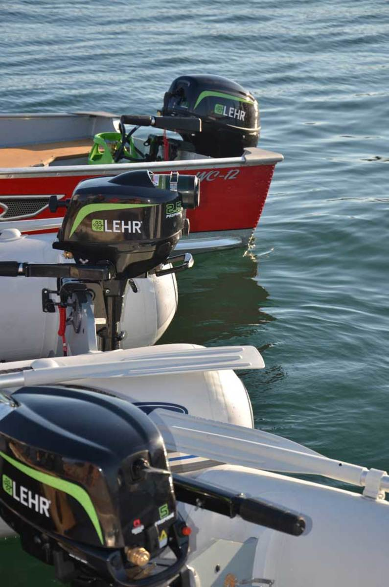 Lehr Inc. has just introduced its latest development, a 9.9-horsepower propane-powered outboard.