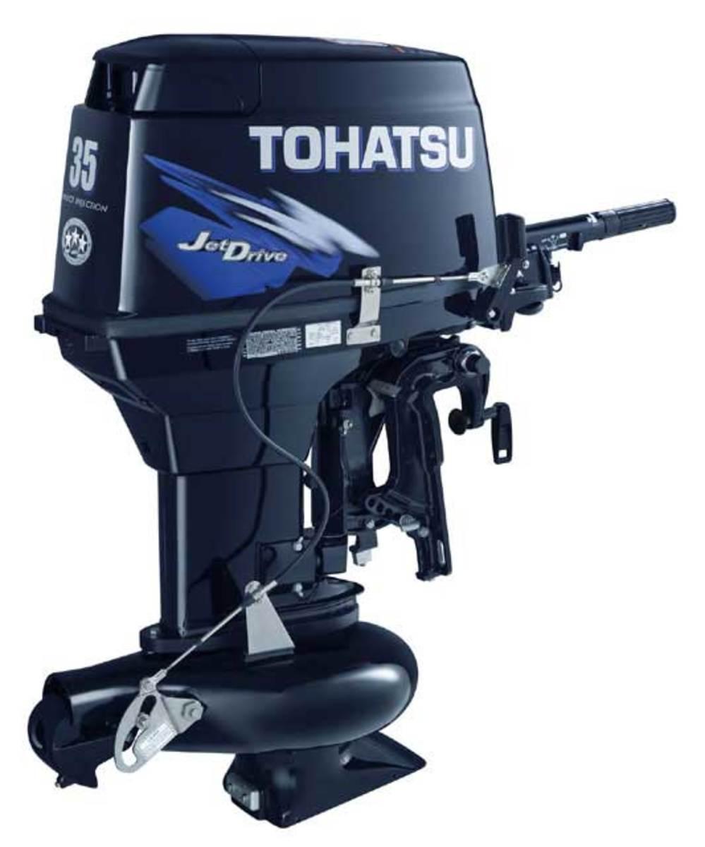 Tohatsu 35-Horsepower Jet-Drive TLDI