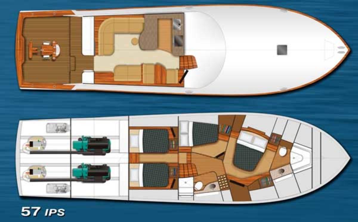 Spencer 57 IPS layout diagram