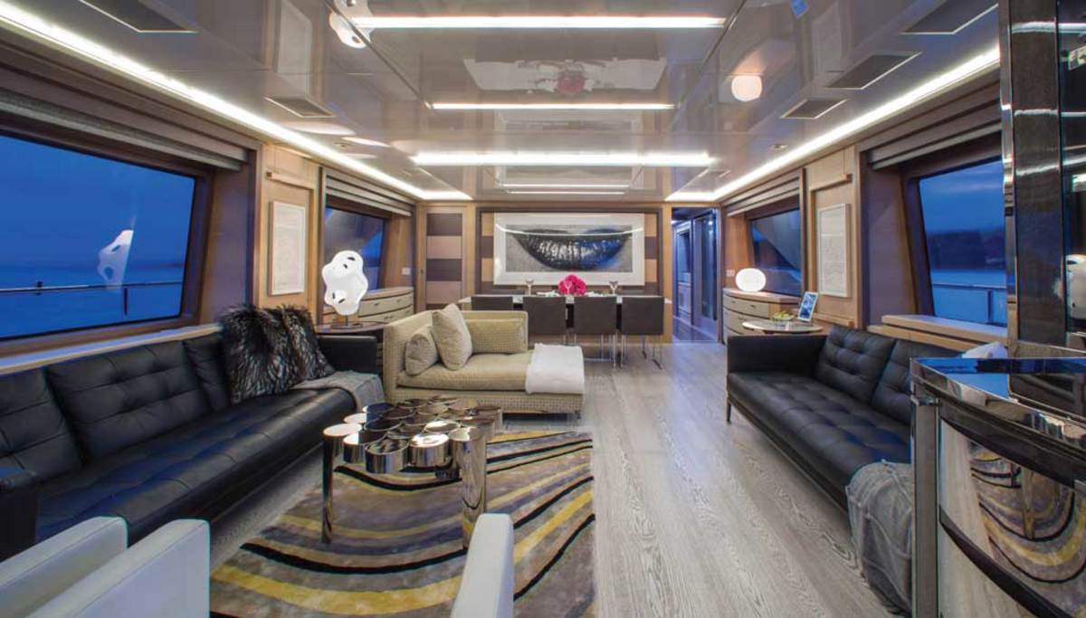 Owner and builder collaboration is reflected in the stylish saloon