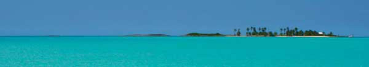 Small island in the Abacos