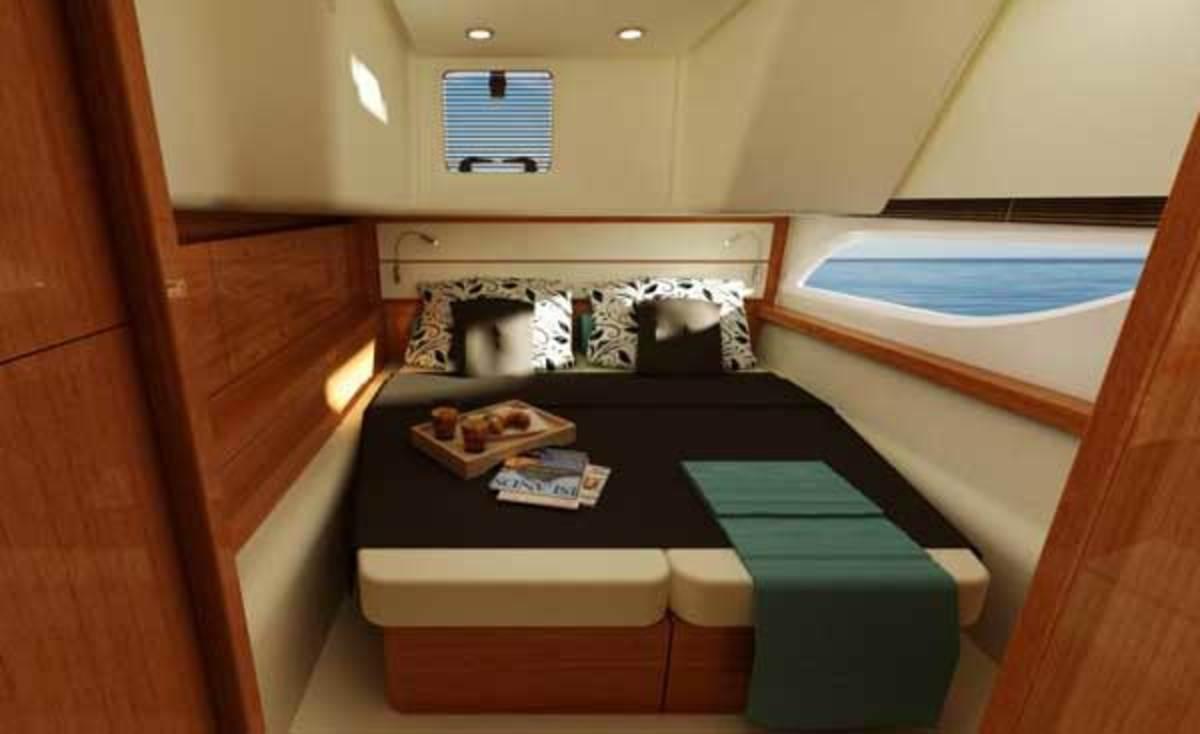 MarineMax 464 cabin