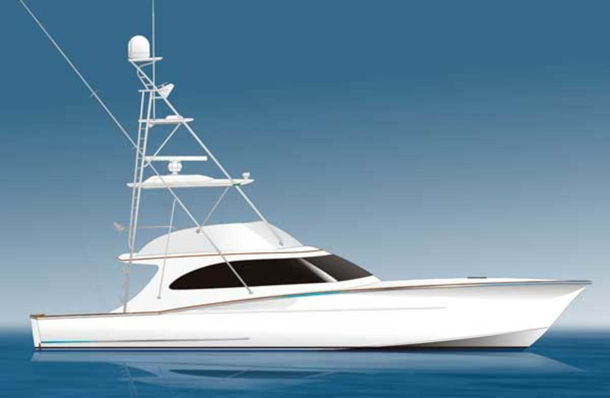 Spencer 57 IPS sportfishing yacht