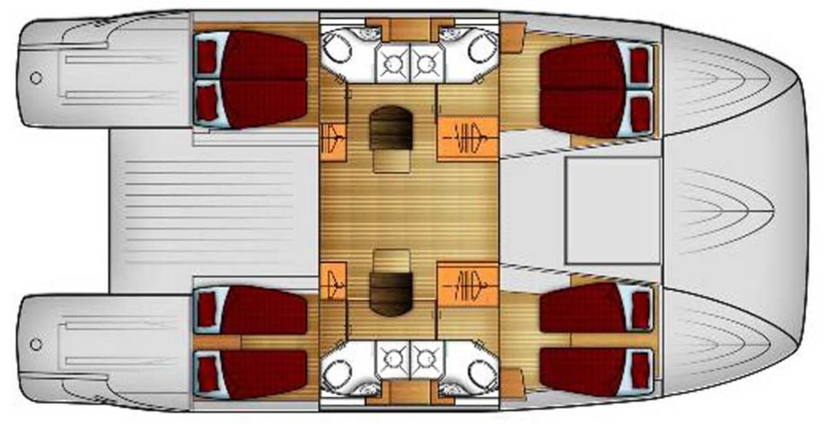 Max 464 Main Deck Layout Plans