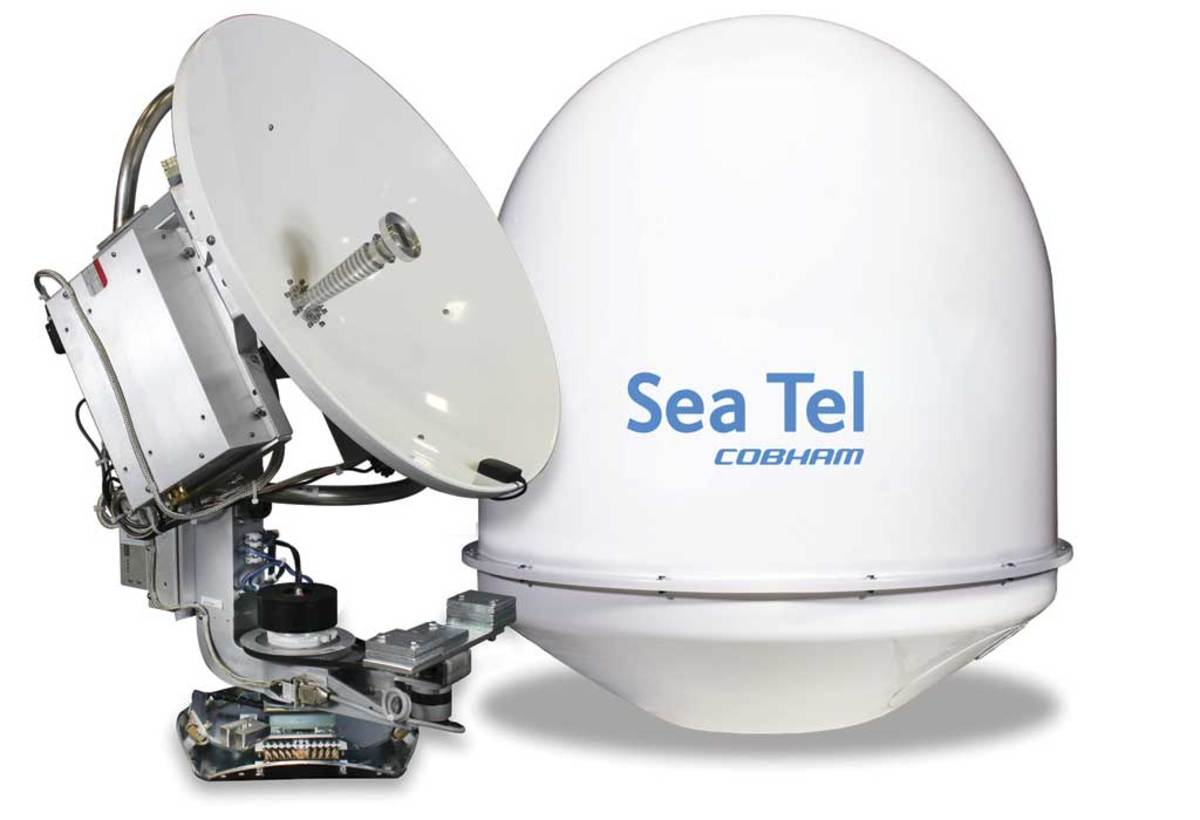 Sea Tel 3011 - click to enlarge
