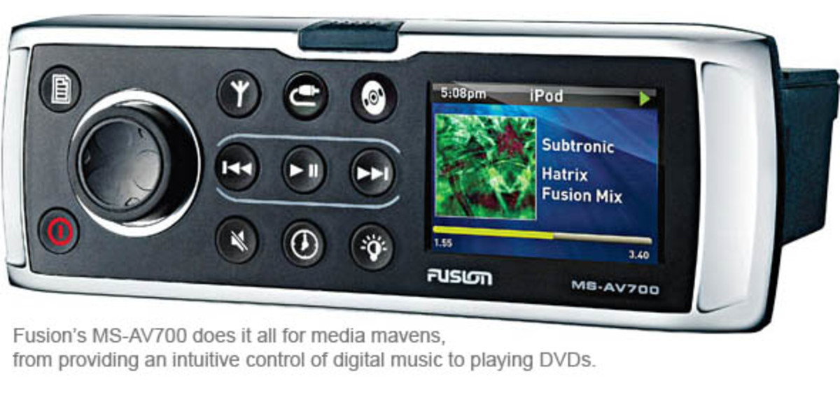 Fusion's MS-AV700 does it all for media mavens, from providing an intuitive control of digital music to playing DVDs.